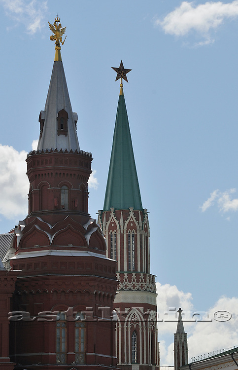 Kremlin tower, Moscow Russia