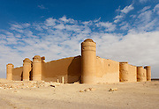 """Qasr al-Hayr al-Sharqi (Eastern al-Hayr Palace or the """"Eastern Castle"""") is a castle in the middle of the Syrian Desert."""