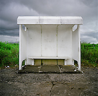 Bus Stop in Mauritus
