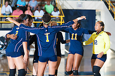 2015 A&T Volleyball vs Campbell University