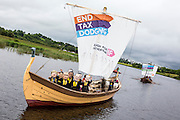 The Enough Food for Everyone IF campaign launches a flotilla of boats calling on the G8 to help end to tax dodging so families can feed themselves in the future.