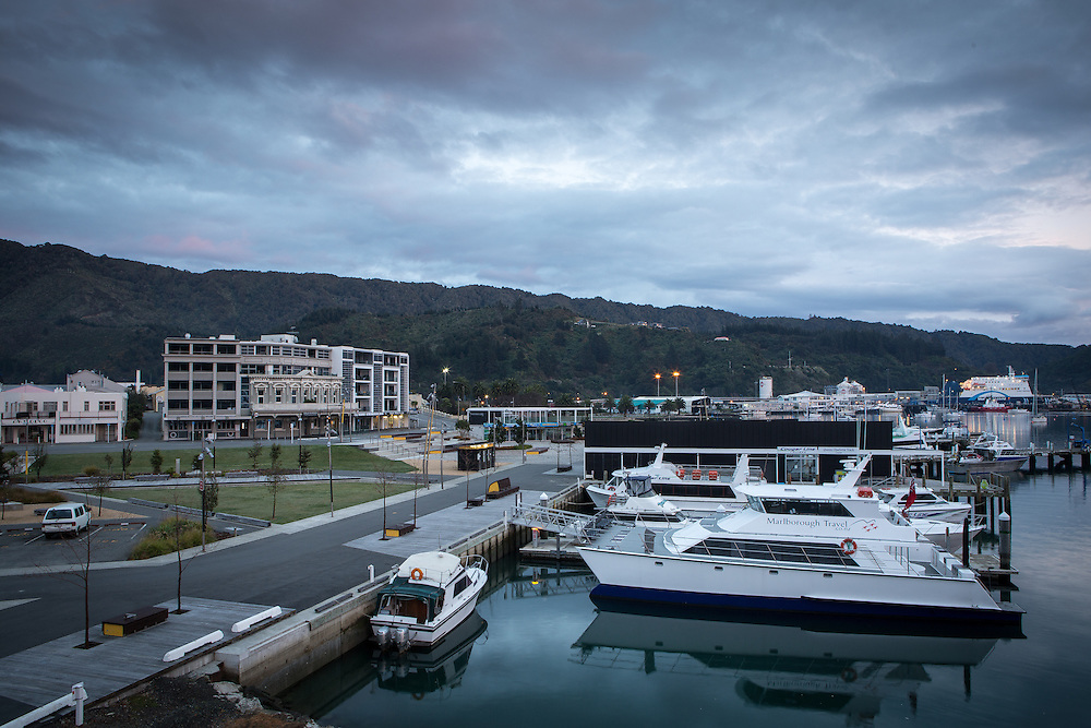 Marlborough Sounds Marinas - Picton.  August 2013.<br /> Copyright: Gareth Cooke/Subzero Images