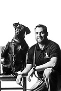 Michael Dowens<br /> Navy<br /> E-5<br /> Search and Rescue Swimmer<br /> 07/08/2002-07/08/2006<br /> OIF<br /> Somalia<br /> Liberia<br /> <br /> Service Dog &quot;Emery&quot;<br /> <br /> Photo by Stacy Pearsall