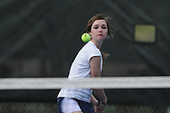 Oxford High's Ann Marie Edlin vs. Saltillo in tennis at Avent Park on Mondday, March 29, 2010 in Oxford, Miss.