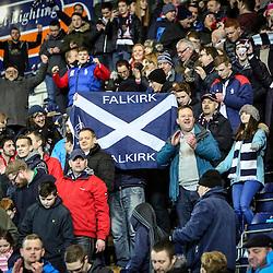 Falkirk v Rangers, South stand fans, 18/3/2016