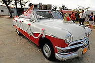 Quinceanera in Gibara, Holguin, Cuba.