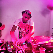 Photo © Joel Chant .DJ Colin Dale, House of Honey Valentines party 2011