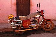 Motorcycle in Alquizar, Artemisa, Cuba.