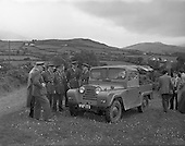 1958 -  Austin Gipsy off-road vehicle demonstrated to Irish Army