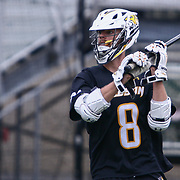 Towson Attackman TYLER KONEN (8) in action during the second half of a 2017 NCAA Division I Men's Lacrosse Quarterfinals game between unranked Towson and #2 Syracuse Sunday, May. 21, 2017 at Delaware Stadium in Newark, Delaware.