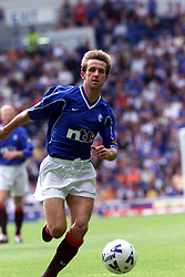 Neil McCann during a Rangers v Dunfermline game in August 2000..