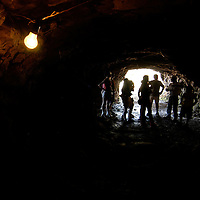 Wanda Mine Semi precious stone open mine exploited using tunnels. Findings include quartz, agata , amathist