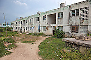 Apartment building in Jiguani, Granma, Cuba.