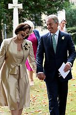 SEP 15 2013 Tony Blair's son's wedding