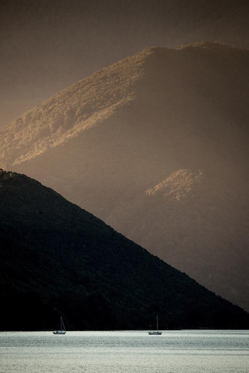 Marlborough Sounds Marinas, February 2014.<br /> Copyright: Gareth Cooke/Subzero Images