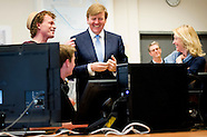 Koning heeft vandaag, dinsdag 7 april, met minister Bussemaker van Onderwijs, Cultuur en Wetenschap