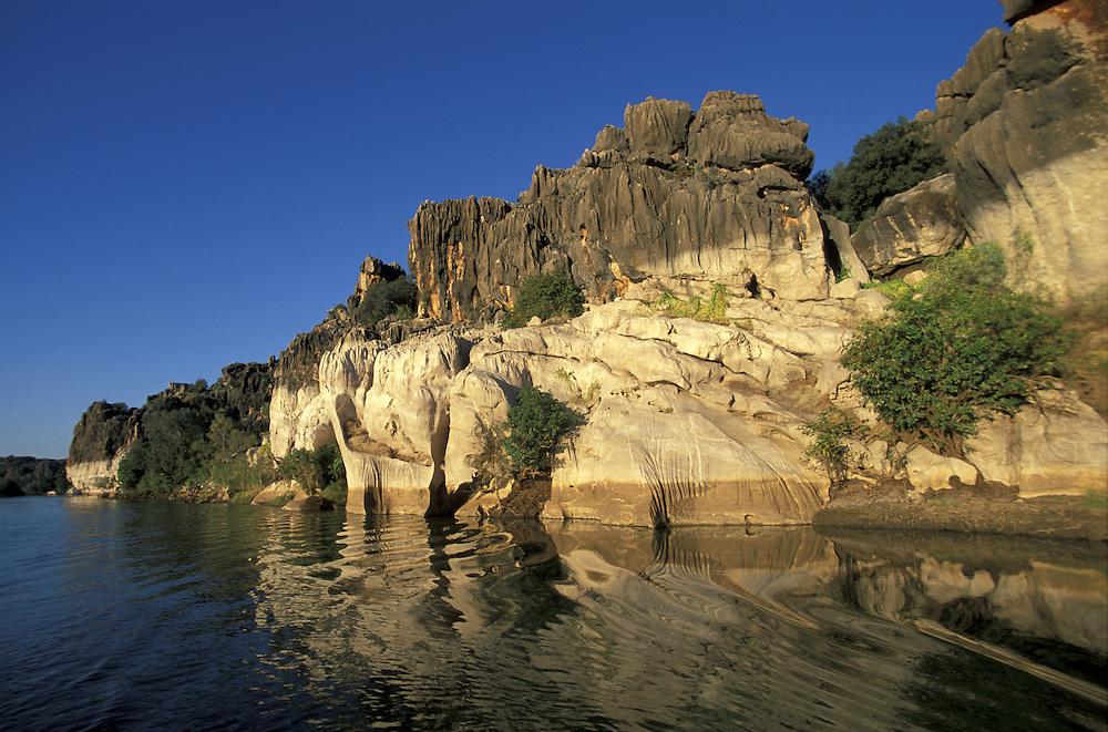 Geikie Gorge Natl. Park.The Kimberley's.Western Australia.Australia