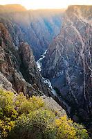 Black Canyon of the Gunnison National Park. Near Montrose, Colorado.