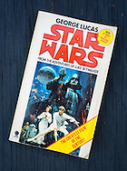 Star Wars Paperback Book 1977, Written by George Lucas