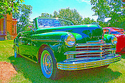 03 August 2013:  1949 Plymouth Special Deluxe convertible<br />