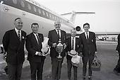 1967 - Irish Amateur Golf Team at Dublin Airport