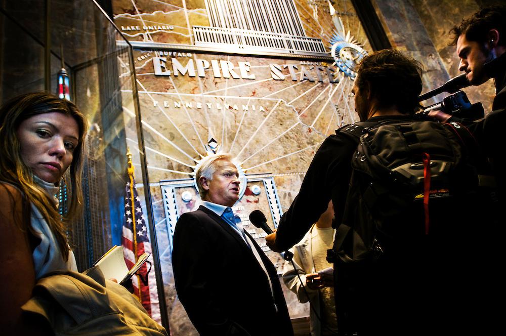New York Redbulls general manager Hans Backe in New York City..Photographer: Chris Maluszynski /MOMENT