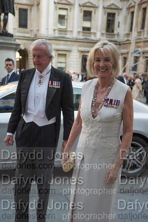 GALEN WESTON; HILARY WESTON, Royal Academy Annual dinner, Piccadilly, London. 6 June 2016