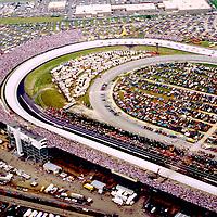Aerial views of Dover International Raceway