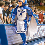 3 November 2009: Duke Blue Devil rallies the fans..The Duke Blue Devils defeat the Findlay Oilers 84 -48 in an exhibition game. Kyle Singler had 20 points as Duke wraps up it's pre-season.. Mandatory Credit:Mark Abbott / Southcreek Global