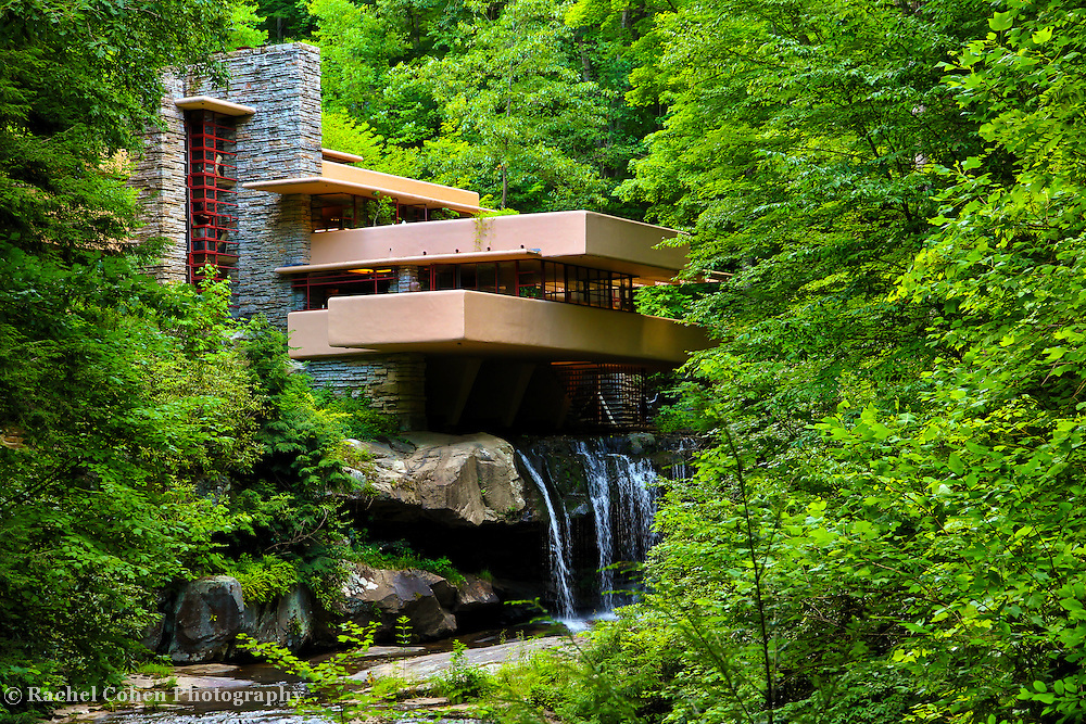 &quot;Wishes on Fallingwater&quot;<br /> <br /> Beautiful Fallingwater in the scenic Laurel Highlands of PA. A wonderful summertime view!!<br /> <br /> Laurel Highlands Area of Pennsylvania by Rachel Cohen