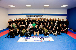 International Krav Maga Federation grading and bus seminar on the 14th November 2010..The Seminar and Grading was conducted by IKMF Chairman and Master Level Instructor, Avi Moyal, at the Scottish Martial Arts Centre, Dumyat Business Park, Tullibody. Pic of the bus seminar students..Pic ©2010 Michael Schofield. All Rights Reserved.