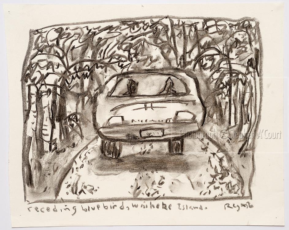 Artist Chris O'Doherty (aka Reg Mombassa).