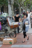 bike market in Shanghai China