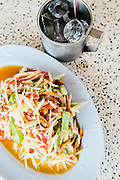 Som tam (papaya salad), Udon Thani