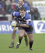 31/01/2004 Parker Pen Challenge Trophy.Bath Rugby v Beziers.Martyn Wood...   [Mandatory Credit, Peter Spurier/ Intersport Images].