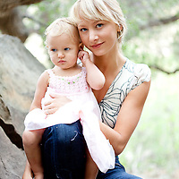 Mother and Daugher Pictures and Family Photos in Ojai