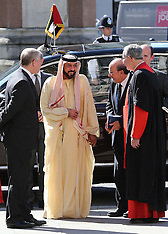 MAY 03 2013 State visit to the UK by President of the UAE