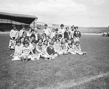 Educational Tours Visit Croke Park..25.06.1976  25th June 1976
