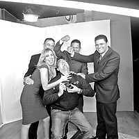Spanish photographer KIKE CALVO with the staff of Debate Abierto