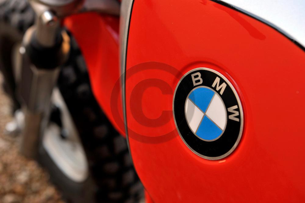 15/09/11 - COURPIERE - PUY DE DOME - FRANCE - Essais BMW R80 de 1981 reconditionnee en 2011 par Christian COLLET - Photo Jerome CHABANNE