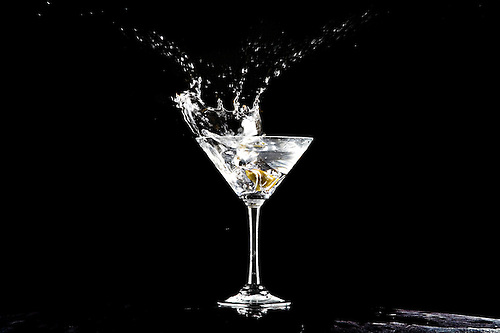Martini Splash Royalty Free Stock Image - Image: 19358416