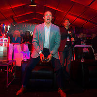 Drew Brees plays in the Madden Bowl at the Bud Light Hotel during Super Bowl XLVI activities in Indianapolis, Indiana. Michael Hickey, Getty Images for Yahoo