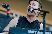 Matt Johnson of Matt & Kim at Lollapalooza
