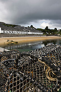 Bunnahabhain malt whisky distillery, Islay, Scotland.
