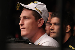 Atlantic City, NJ - June 22, 2012: Mac Danzig watches the action between Gray Maynard and Clay Guida at UFC on FX 4 at Ovation Hall at Revel Resort & Casino in Atlantic City, New Jersey.