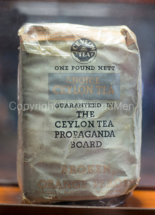 First packaged tea from Sri Lanka. 1944<br />