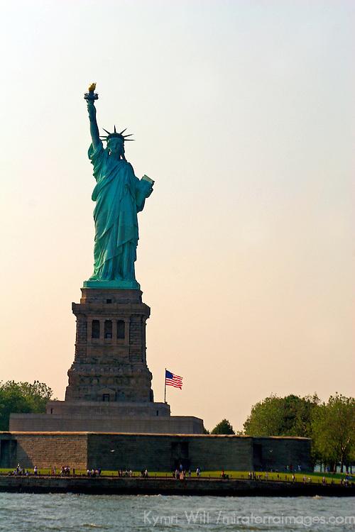USA, New York, New York City. The Statue of Liberty.
