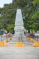 Monument in Jiguani, Granma, Cuba.