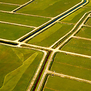 Aerial View of Farm & Irrigation in New Jersey Aerial views of artistic patterns in the earth.