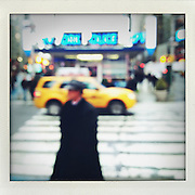 Times Square, New York..From the series Fake Polaroids. ...photo © Stefan Falke....